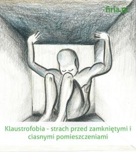 klaustrofobia strach przed małymi pomieszczeniami
